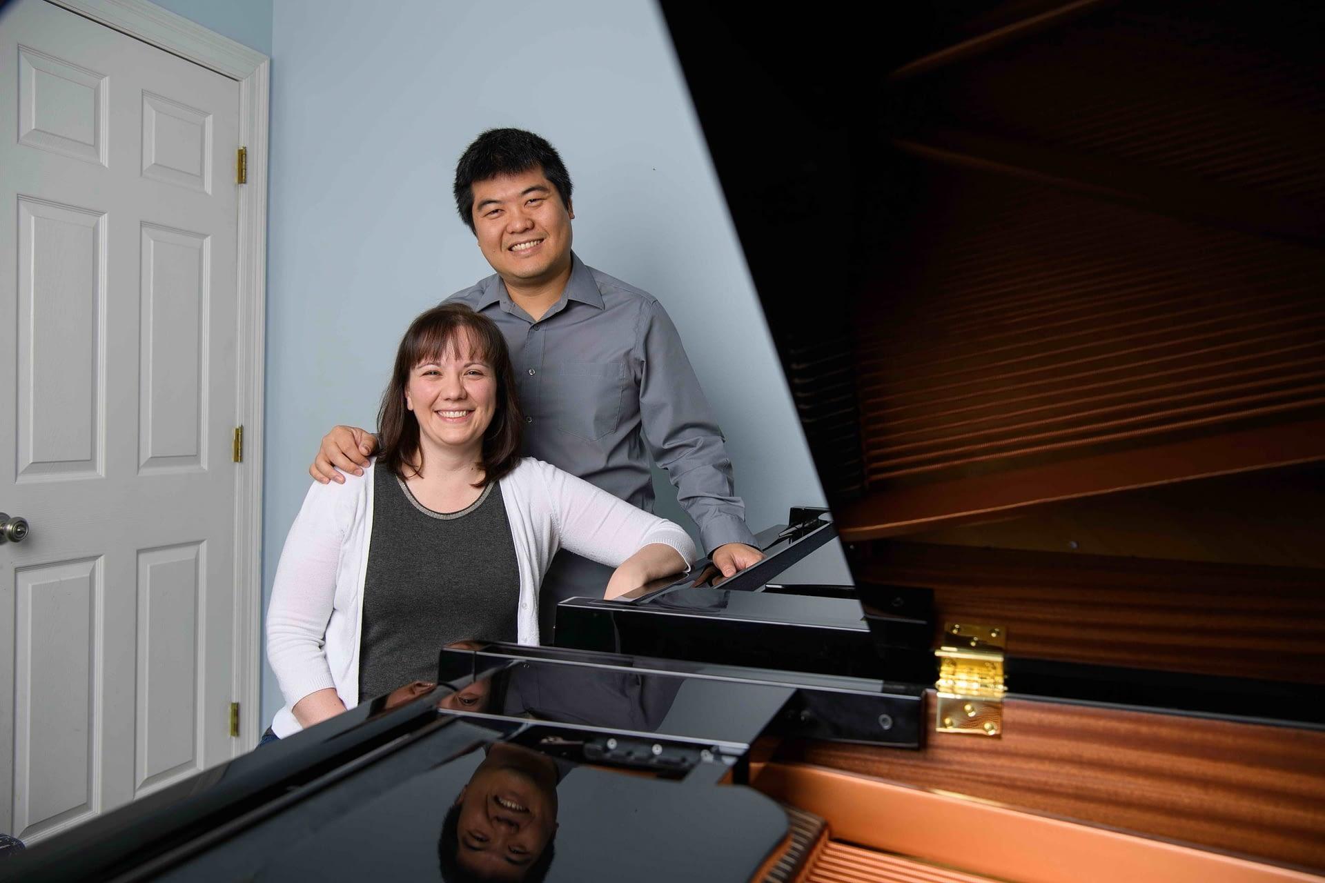 Piano teachers Robin and Raymond Yee